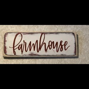 Other - Distressed wooden sign